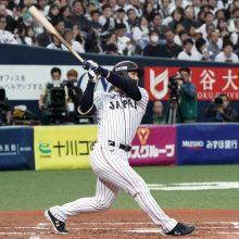 侍ジャパン、4番吉田正の満塁弾で先制 1番吉川尚が安打&盗塁で好機演出