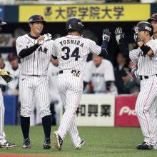 侍J快勝!4番吉田正が満塁弾含む5打点 投手陣は7投手で完封リレー