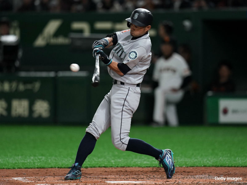 BASEBALL KING | 日本の野球を盛り上げる!マリナーズ・イチロー、24打席連続ノーヒットで開幕へ