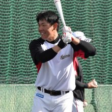 ロッテ・安田、来季に向けてスタート「練習するしかない」