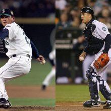 佐々木-城島のバッテリーがリッキー・ヘンダーソンと共演!MLB開幕シリーズの始球式が超豪華