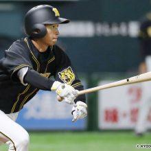 阪神・近本が先頭打者アーチ! 今季初の1番起用で今季初安打