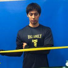 【少年野球トレーニング】肩のインナーマッスルを鍛える(前編)