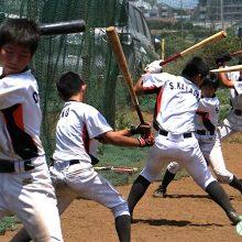【都筑中央ボーイズ】「打って勝つ」を目指すチームのバッティング練習