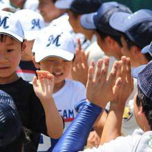 プロアマが一緒に子供たちを指導。「東大球場スポーツデー」開催(後編)