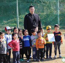 DeNA筒香選手が「野球の未来」へ向けてメッセージ、堺ビッグボーイズ「アグレシーボ体験会」
