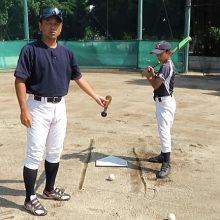 【素振りをやってみよう】お父さんとお母さんのための野球基礎知識(初級編)