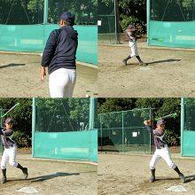 【真横からのティーバッティング】少年野球練習メニュー(上級編)