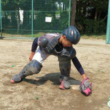 【少年野球指導者のためのキャッチャー練習法】タッチの仕方
