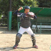 【少年野球指導者のためのキャッチャー練習法】構え方