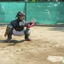 【少年野球指導者のためのキャッチャー練習法】キャッチング