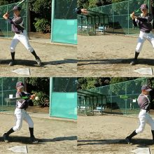 【真後ろからのティーバッティング】少年野球練習メニュー(上級編)