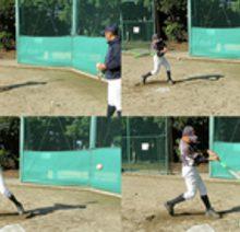 【ワンバウンドのティーバッティング】少年野球練習メニュー(上級編)