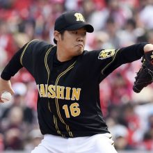 阪神・西、6回1失点で5勝目!近本V弾 広島の連勝は3でストップ