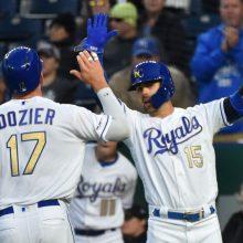 ロイヤルズの連敗は「10」でストップ 初回に猛攻、打者一巡で6得点