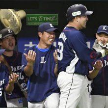 西武3連勝!山川2発&外崎逆転2ラン 3回0封の森脇はプロ初勝利