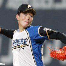 日本ハム吉田輝星、5回1失点の力投 広島打線封じ初登板初勝利の権利