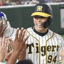 全セ球宴5連敗も9回に意地 中日・高橋初打席で初安打、阪神・原口代打弾!