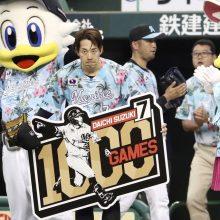 新人時代の経験、痛みに耐えながらの出場…ロッテ・鈴木が通算1000試合出場達成