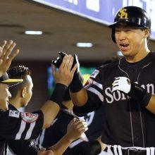 ソフトバンクが連敗を6で止める 長谷川勇が決勝弾、松田遼は移籍後初白星