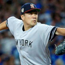田中将大、7回途中4失点で勝敗つかず ヤンキース延長戦制しレイズ戦6連勝