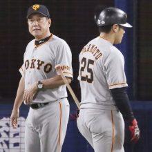 巨人・岡本、好機で三振 大矢氏「打ち気が強すぎる」