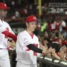 広島・西川が灯籠流しに書き込んだ野球への思い