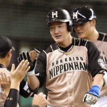 日本ハム連敗ストップ、若き中軸で全5打点! 渡辺初10号、清宮2夜連発