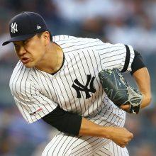 田中将大、7回途中2失点で9勝目 中4日で83球、無四死球の安定投球