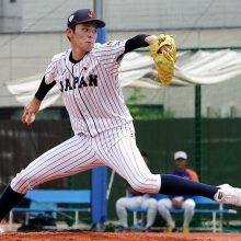 侍・U-18代表の壮行試合に佐々木朗希が先発!大学ジャパンもドラ1候補・森下