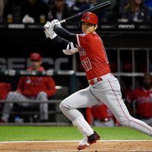 大谷、2長打で今季33度目のマルチ安打! 左翼線二塁打に続き右翼線三塁打