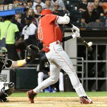 大谷、今季初4番で17号3ラン含む3安打 1試合5打点はメジャー自己最多!