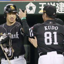 ソフトB、長谷川勇の犠飛などで4点勝ち越し ミス逃さずキッチリ加点!