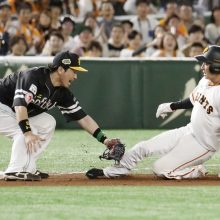 真中氏、巨人・増田の走塁に「絶対にアウトになっては…」
