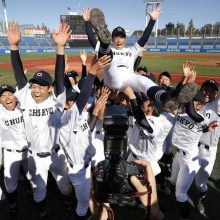 中京大中京が、神宮大会初制覇!高橋監督「チーム力、チームワークが成長できた」