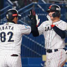 鈴木誠也が3試合連続本塁打! 4番の3戦連発は侍J史上初、今大会10打点目