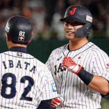 侍J、鈴木&近藤の適時打で初回に2点先制 2回も坂本の適時打で3点目!