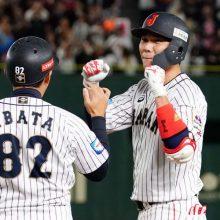 侍ジャパン、メキシコ破り同率首位 坂本が攻守で躍動、投手陣1安打リレー!