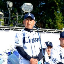 西武復帰の松坂は「16」に決定! 辻監督と松井二軍監督もエール「本人も楽しみにしていたのでは」