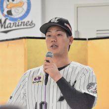 即戦力候補のロッテドラ5・福田光輝「どこでも守れる準備はしています」