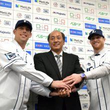 西武の新外国人2人が入団会見!クレバーな先発左腕と機動力野球の新たな戦力?!