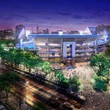 横浜スタジアムのレフト側「ウィング席」新設で収容人数は3万4046人に