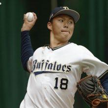 """オリックス・山本由伸が""""幼なじみ""""頓宮との初バッテリーで好投「安定したボールが投げられた」"""