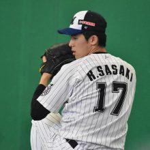 ロッテ・佐々木朗希、岩手県の高校野球大会開催に「野球を楽しんでもらいたい」