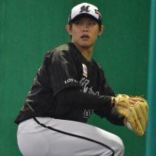 ロッテ・チェンが2イニング無失点 福田秀、鳥谷、安田ら左打者を制圧