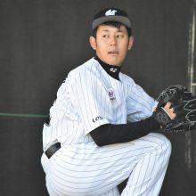 ロッテ・永野、ブルペンで投球練習 小野コーチ「思ったより投げられている」