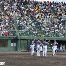 阪神が中日との練習試合に打ち勝つ 遊撃争う木浪&北條がアピール弾!