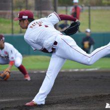 先発転向の楽天・松井が2回完全 上々の今季初実戦「球数少なくてよかった」