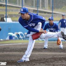 中日・勝野、実戦3イニング連続完全投球 一軍昇格へ「いい感じで来ている」