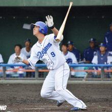 中日・石川駿が一発含む3安打4出塁 与田監督「レギュラーを脅かす存在に」